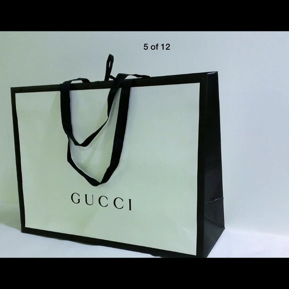 10a841ab4 Gucci Other | New Gift Shopping Bag 19x14x7 | Poshmark